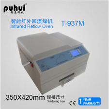 Puhui T937M INFRARED reflow oven solder IC HEATER 2300W T-937M lead-free b