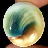 29.40Cts Natural Shiva Eye Oval Cabochon Loose Gemstone