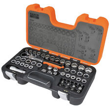NEW Bahco Metric Go Thru/Through/Pass Multi Drive Ratchet Socket Set +Case S530T
