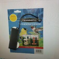 New listing Pennington, Black Plastic, Hummingbird Feeder Window Hook, 1 Pack