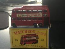 MATCHBOX MOKO LESNEY No 56A VINTAGE LONDON TROLLEY BUS NMINT IN BOX