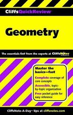 CliffsQuickReview Geometry (Cliffs Quick Review (Paperback)) Kohn, Edward Paper