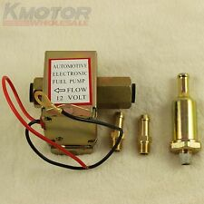 New Universal EP014 Electric Fuel Pump Metal Solid Diesel or Petr 4-6 PSI 12V