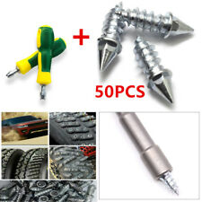 Unbelievable 50pcs Steel Car Tire Stud Thorn Screw Anti-slip Snow Ice Nail Parts