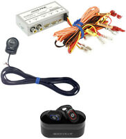 ALPINE KCX-C2600B Single Monitor Front+Rear Camera Selector+Wireless Earbuds