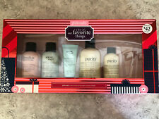 Philosophy Gift Set - 5 Items - NEW - Purity, Marsh Buttercream, Snow angel
