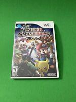 Super Smash Bros. Brawl (Wii, 2008) Complete TESTED