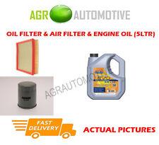 Essence huile filtre à air kit + ll huile 5W30 pour chevrolet cruze 1.6 109 bhp 2009 -