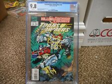 Transformers Generation 2 #3 cgc 9.8 Marvel 1994 NM MINT WHITE pgs battle cover