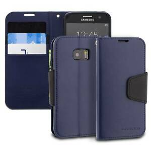 Modeblu Samsung Galaxy S7 Case Classic Diary Wallet Case Faux Leather Kickstand