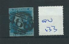 wbc. -  GB - QUEEN VICTORIA -  QV133 - TWO PENNY BLUE - WHITE LINES ADDED