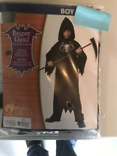 Reaper Ghoul Halloween Costume - One Piece Boys Size Large 10-12 New In Package