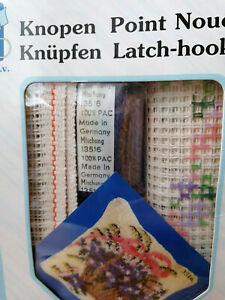 Knüpfpackung / Knüpfkissen 3516 Blumenkörbchen (40 x 40 cm)  Unbenutzt!!!