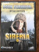 Bear Grylls - Born Survivor - Siberia ~ Discovery Documentary | UK DVD