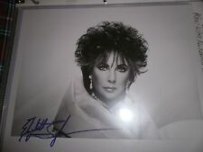 ELIZABETH TAYLOR SIGNED PHOTOGRAPH-1990