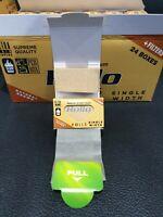 NEW 24PCS DISPLAY BOX Rollo Cigarrette Cones Organic King Size Rolling Paper Raw