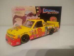 KEVIN HARVICK 2003 ACTION #6 AUTOGRAPHED LOONEY TUNES CHEVY RACE TRUCK MEGA RARE