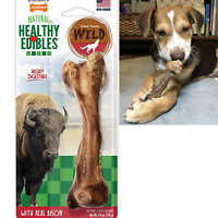 Dog Chew Treats Long Lasting Bison Snack Bone Wild Natural Pet