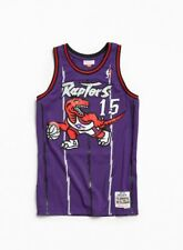 Toronto Raptors Vince Carter Jersey Vintage Mitchell And Ness Mens Large NWT