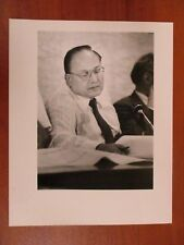 Vtg Glossy Press Photo Natick MA Milton E. Gilbert Planning Board Chair 7/29/86