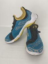 Zoot Sports Ultra Race TT 3.0 Mens Size 7 Running Shoes Blue Yellow Black  EUC