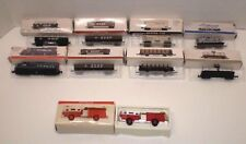 Lot ~ 8 Trains (N Scale) Reader's Digest +(1) 1974 Mack Fire Truck (NOT N Scale)