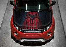 Spiderman #2 Car Hood Wrap Full Color Vinyl Sticker Decal Fit Any Car