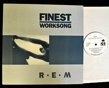 """12"""" PROMO R.E.M. REM IRS 17150 Finest Worksong"""