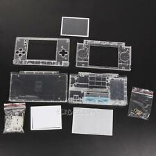Replacement For Nintendo DS Lite NDSL Housing Shell Screen Lens Crystal Clear