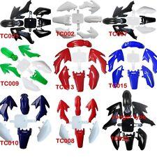 Complete Body Plastics Kits For Honda CRF50 XR50 Chinese Pit Bike 70cc 90 110CC