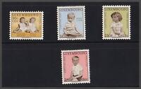 Luxemburg 1962 Caritas Prinz Jean Prinzessin Margaretha Nr: 660/65