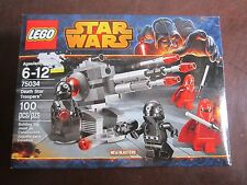 LEGO New Star Wars 75034 Death Star Troopers 100 pcs red black blasters saber