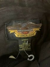 Harley Davidson Genuine Leather Womens Shorts Size 4, NEW, Free Shipping