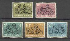 NVPH 596-600 Kind 1952 luxe postfris (MNH)