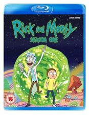 Rick and Morty Season 1 [Blu-ray] [DVD][Region 2]