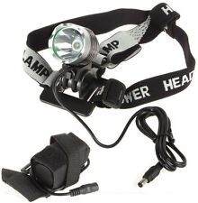 SecurityIng 1200 Lumens CREE XM-L T6 LED Bicycle Light Torch Headlamp + Battery