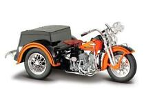 1/18 Maisto 1947 Harley Davidson Servi-Car Black with Orange HD Custom 03179