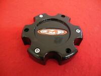 Moto Metal Custom Wheel Center Cap Gloss Black Finish 845L145 S609-32