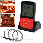 Die besten Grill-Thermometer - Digital Bratenthermometer Funk Grillthermometer Fleisch Thermometer mit 2 Bewertungen