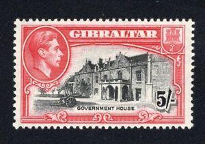 1938-51 Gibraltar. SC#116b. SG#129a. Mint, Lightly Hinged, VF.