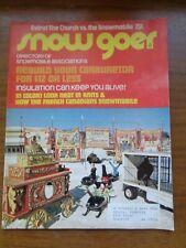 Snow Goer Magazine - January1972