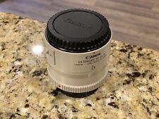 Canon EF 2X II Extender Telephoto Lens Adapter