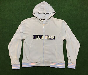 VTG 00s Rocawear Women's Full Zip Track Jacket Size Small RARE