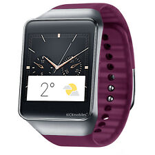 """ITEMNew Samsung Gear Live 4GB Wine Red 1.63"""" Smart Watch Powered by Android Wear"""
