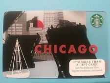 Starbucks gift card 2014 CHICAGO No Swipes No Value New Great Card!