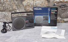 Poste portable radio Philips type D 2012 vintage