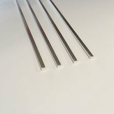 4 End Cap Trims Silver 2.6M Long For 5mm PVC Decorative Panelling
