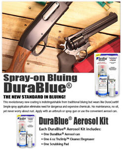 DuraBlue Aerosol Kit by DuraCoat - Polished Blue/Black