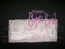 TIM BURTON CORPSE BRIDE T SHIRT Johnny Depp Helena Bonham Carter Movie MEDIUM