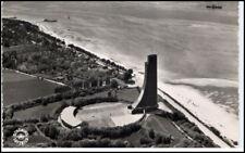 LABOE Kiel ~1950/60 AK Marine Ehrenmal vom Flugzeug aus